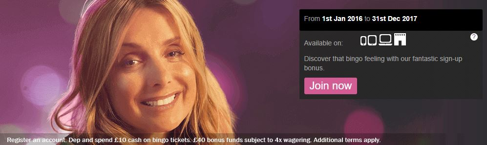 welcome bonus mecca bingo